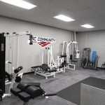 Sac Community Center west weight room